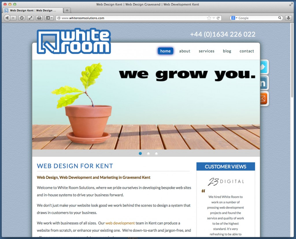 For Whiteroom Solutions, Kent